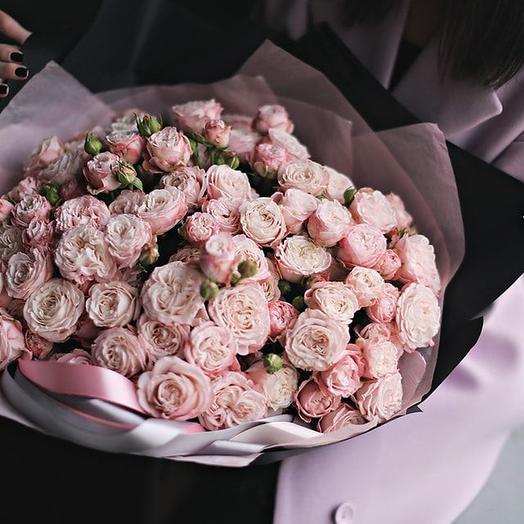 Пионовидный Шик: букеты цветов на заказ Flowwow