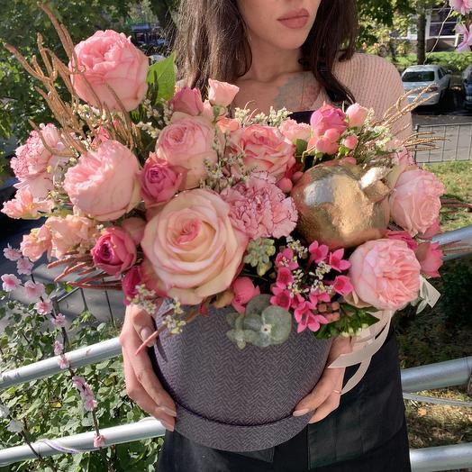 Золотой гранат: букеты цветов на заказ Flowwow