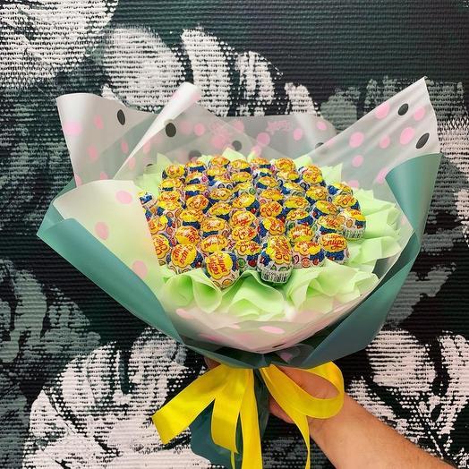 Букет Чупа: букеты цветов на заказ Flowwow