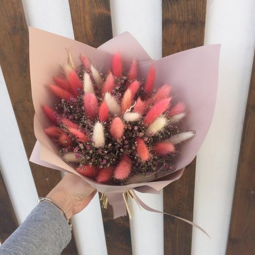 Букет из сухоцветов мини: букеты цветов на заказ Flowwow