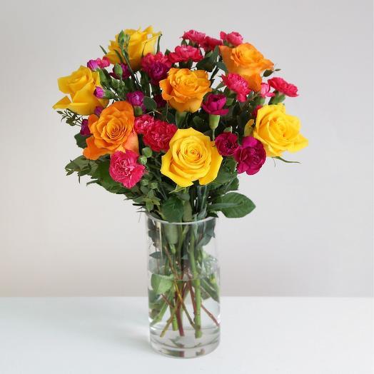 """Букет """"Радуга"""": букеты цветов на заказ Flowwow"""