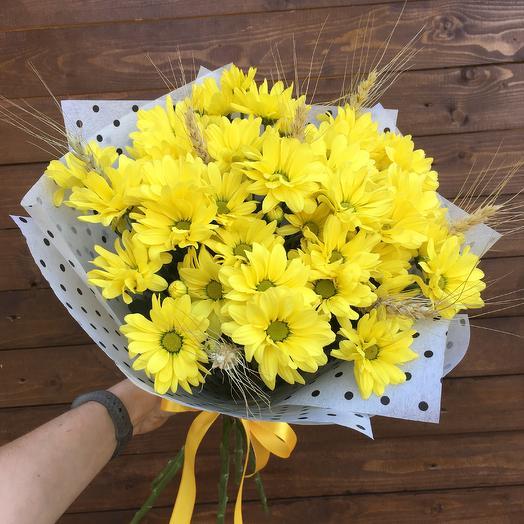 Букет «Полевое солнце»: букеты цветов на заказ Flowwow