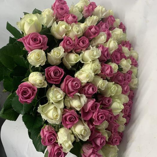 101 мих: букеты цветов на заказ Flowwow
