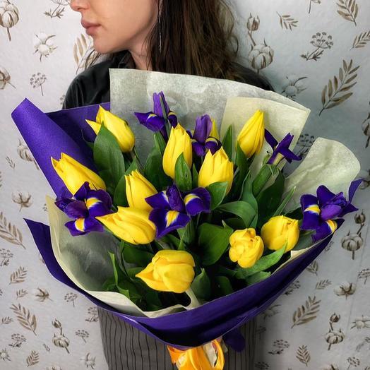 """Букет из цветов """"Весна"""""""