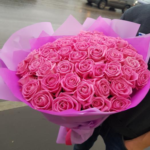 Нежный розовый букет: букеты цветов на заказ Flowwow