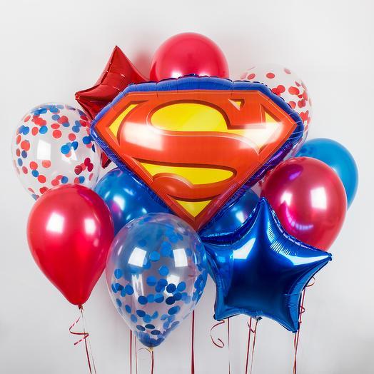 Набор шаров «Супермэн»