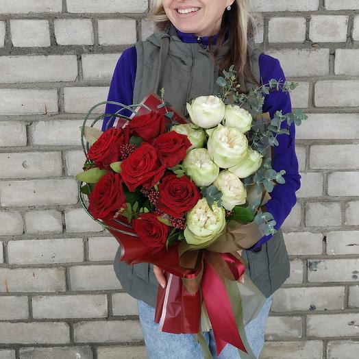 Инь-ян: букеты цветов на заказ Flowwow