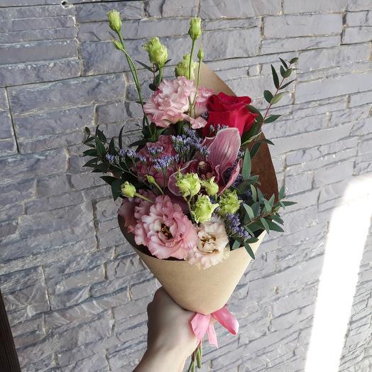 Евро букет 2: букеты цветов на заказ Flowwow