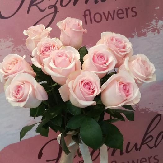 11 роз под ленту: букеты цветов на заказ Flowwow