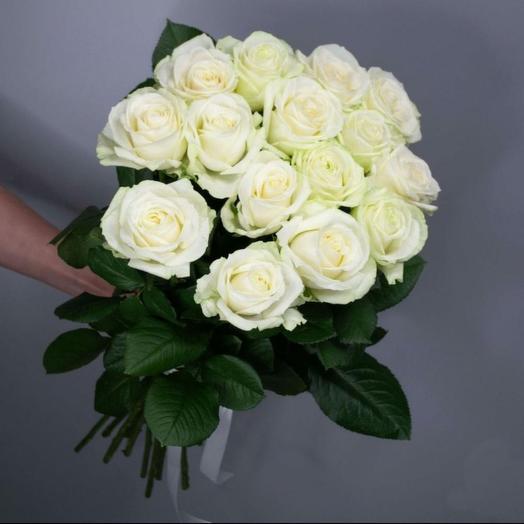 ✅ Букет белых роз Хит