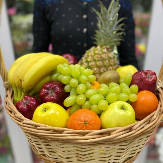 Корзина с фруктами Прованс