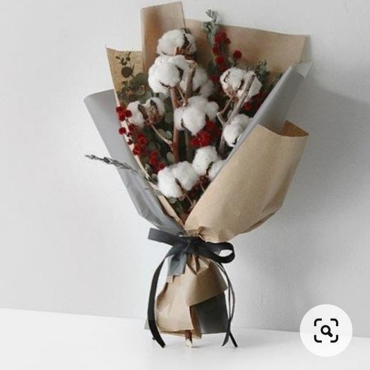 Букет с сухоцветами