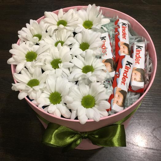 Цветы в коробке 072588