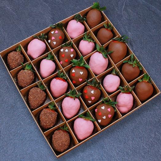 Клубника в шоколаде 1