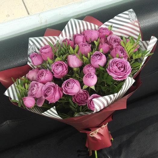 Пионовидные розы дня