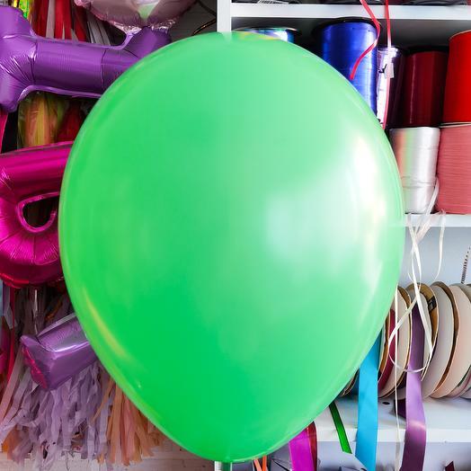 Шар 17 зеленый