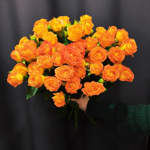 Букет Фиеста, кустовая роза