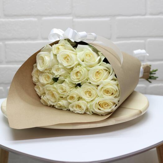 Букет из 19 роз отличный подарок