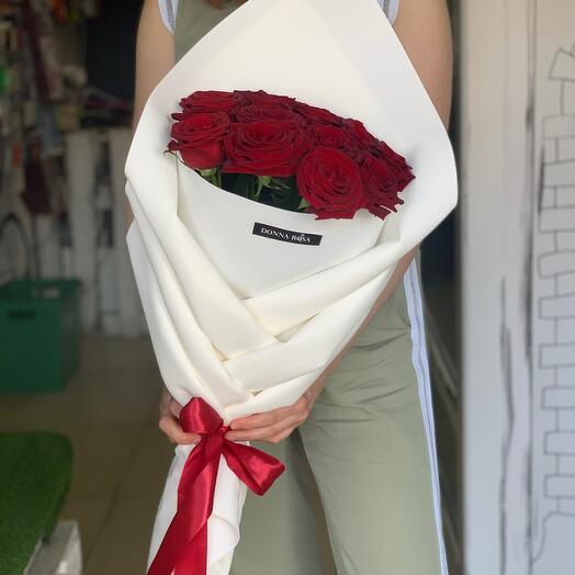 Оригами 11 роз
