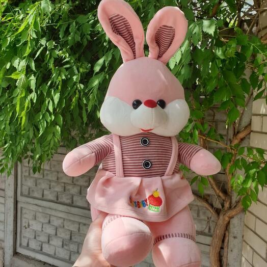Розовый зайка