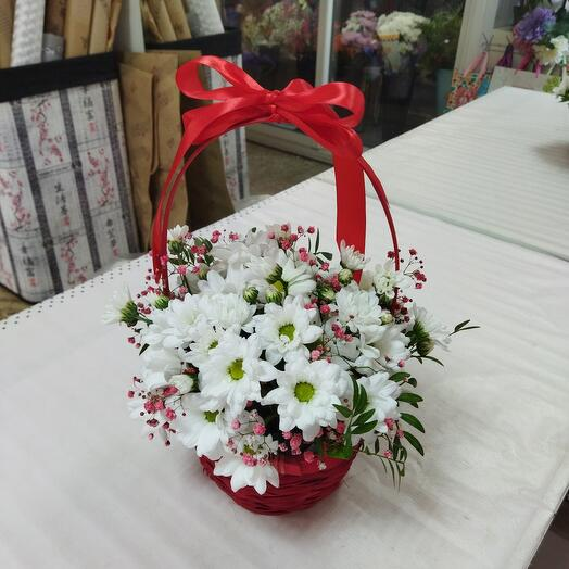 Цветочное лукошко