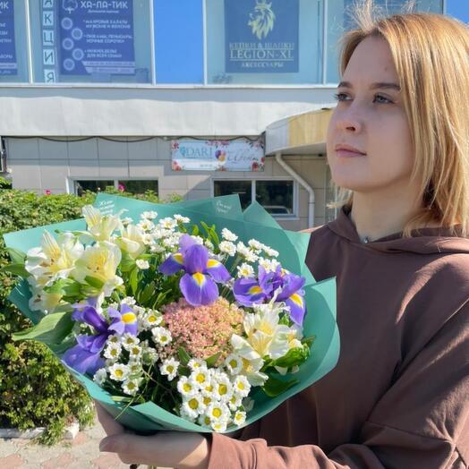Композиция от цветочной феи Алины