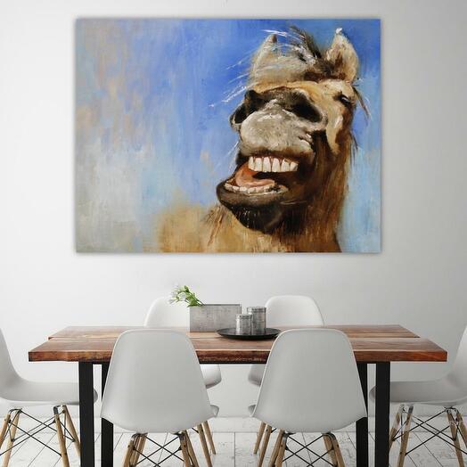 """Картина """"Лошадь"""", """"Я самая счастливая"""""""