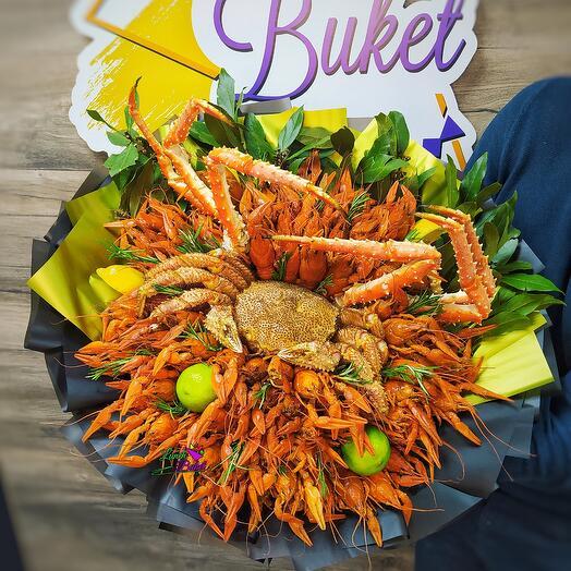 Королевский букет из морепродуктов