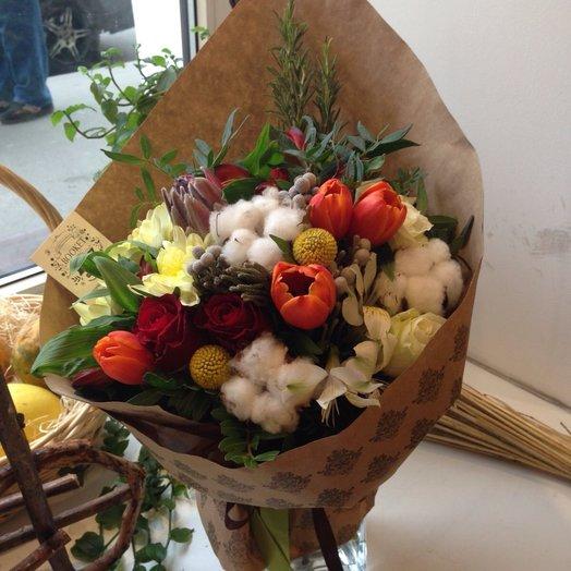 Морозная осень: букеты цветов на заказ Flowwow