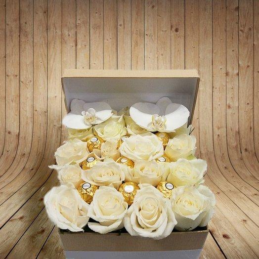 ЗОЛОТОЙ КУШ: букеты цветов на заказ Flowwow