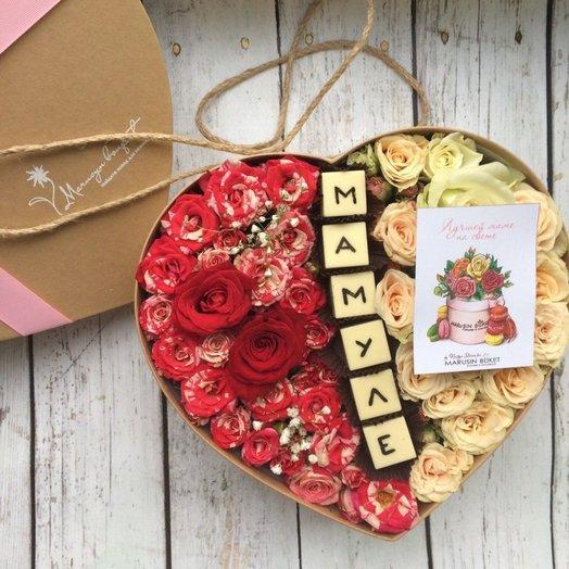 Для самой нежной мамочки: букеты цветов на заказ Flowwow