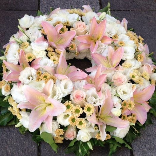 Funeral - wreath: flowers to order Flowwow