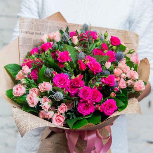 Букет Сказка: букеты цветов на заказ Flowwow