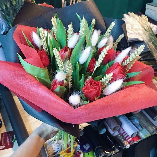 Влюбленный принц: букеты цветов на заказ Flowwow