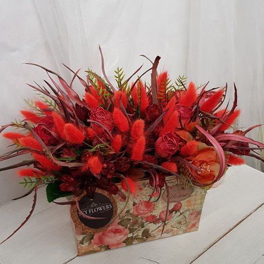 Оранжевое настроение.: букеты цветов на заказ Flowwow