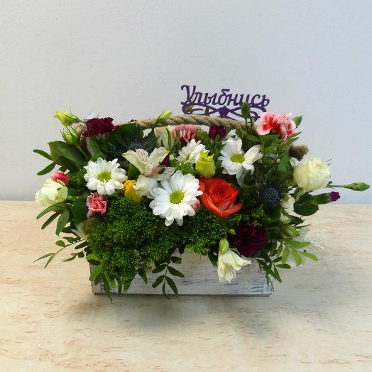 Ящик 3: букеты цветов на заказ Flowwow