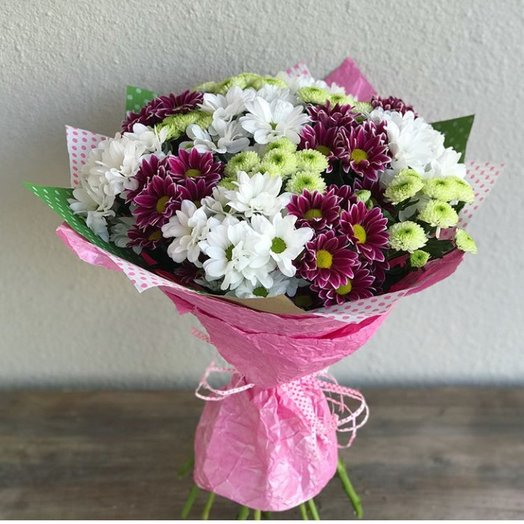 Хризантемка: букеты цветов на заказ Flowwow