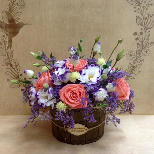 """Композиция """"Сиреневый вихрь"""": букеты цветов на заказ Flowwow"""