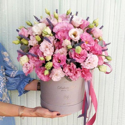 Стильная эустома: букеты цветов на заказ Flowwow