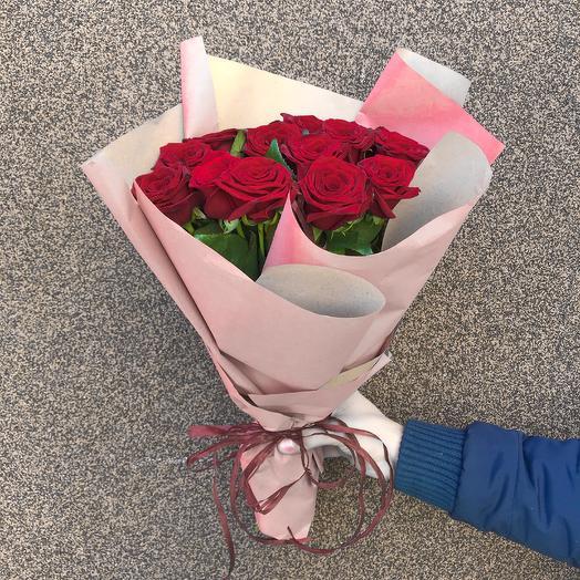 Букет роз Miss Classic: букеты цветов на заказ Flowwow
