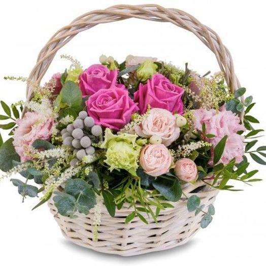 """Цветочная композиция """"Мулен Руж"""": букеты цветов на заказ Flowwow"""