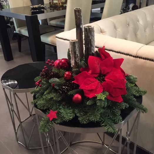 Новый год: букеты цветов на заказ Flowwow