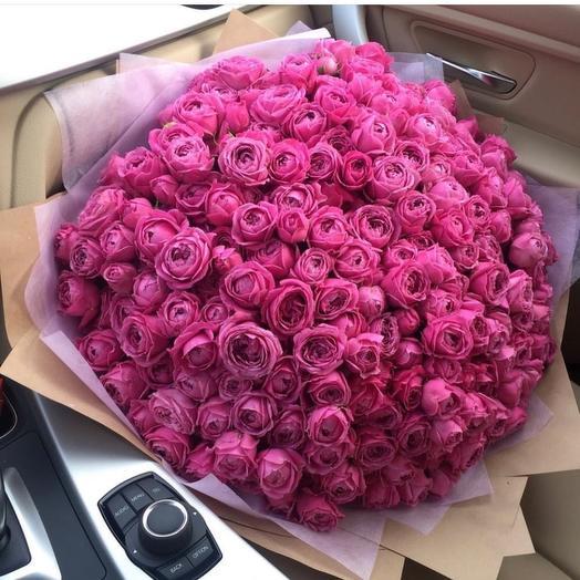 Пионовидная красавица: букеты цветов на заказ Flowwow