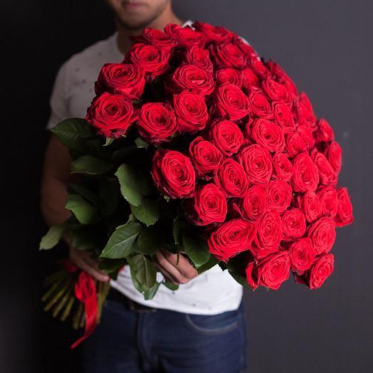 Для ее сердца: букеты цветов на заказ Flowwow