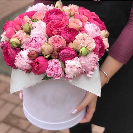 """Цветочная композиция """"Созвучие"""": букеты цветов на заказ Flowwow"""