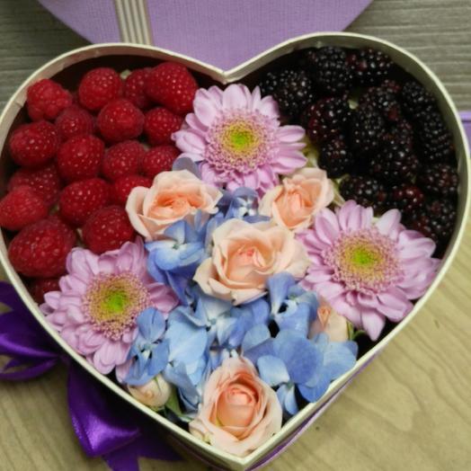 Лесные ягоды: букеты цветов на заказ Flowwow