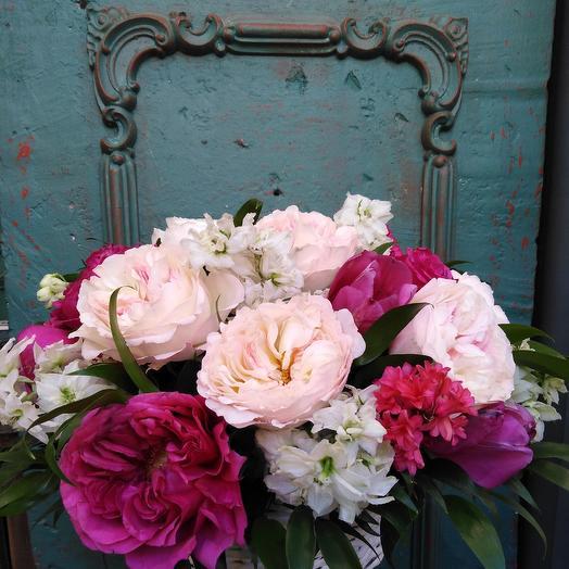 Облако из роз: букеты цветов на заказ Flowwow