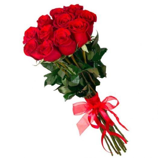 Букет из 11 роз бордовых: букеты цветов на заказ Flowwow