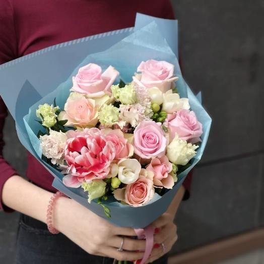 Букет 1858: букеты цветов на заказ Flowwow