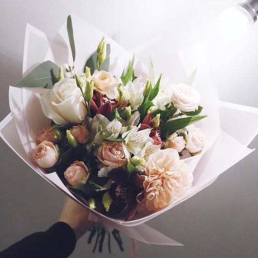 Букет Карамелька: букеты цветов на заказ Flowwow